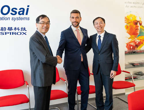 New agreement with Spirox – Taiwan and China